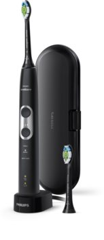 Philips Sonicare ProtectiveClean 6100 Black HX6870/47 Zahnbürste mit Schalltechnologie
