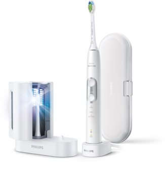 Philips Sonicare ProtectiveClean White HX6877/68 Електрическа четка за зъби с UV дезинфектант