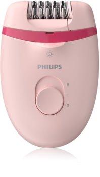 Philips Satinelle Essential BRE285/00 epilatore con astuccio