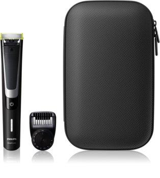 Philips OneBlade Pro QP6510/64 elektrický zastřihovač chloupků s pouzdrem
