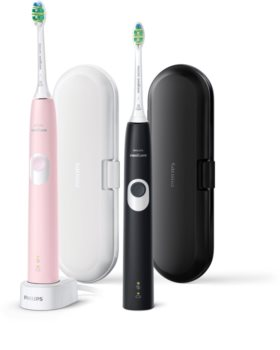Philips Sonicare 4300 Protective Clean HX6800/35 Sonic Electric Toothbrush, 2 shafts