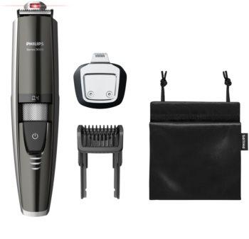 Philips Beard Trimmer Series 9000 BT9297/15 aparador de barba impermeável com orientação a laser