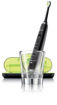 Philips Sonicare DiamondClean HX9352/04 brosse à dents électrique sonique avec verre de charge