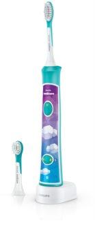 Philips Sonicare For Kids 3+ HX6322/04 Elektrische Schallzahnbürste mit Bluetooth-Verbindung für Kinder