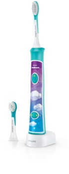 Philips Sonicare For Kids 3+ HX6322/04 sonická elektrická zubná kefka pre deti prepojená spripojením Bluetooth