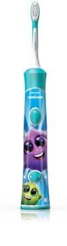Philips Sonicare For Kids 3+ HX6322/04 Sonic Electric periuța de dinți pentru copii cu Bluetooth