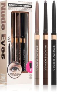 Physicians Formula Shimmer Strips кремообразен молив за очи Nude Eyes (за опушен грим) цвят