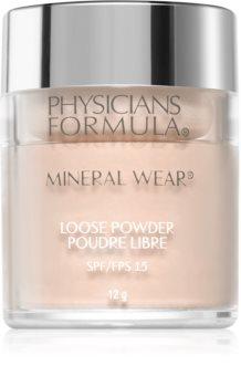 Physicians Formula Mineral Wear® насипен минерален пудров фон дьо тен SPF 15