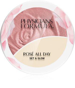 Physicians Formula Rosé All Day puder rozjaśniający z balsamem