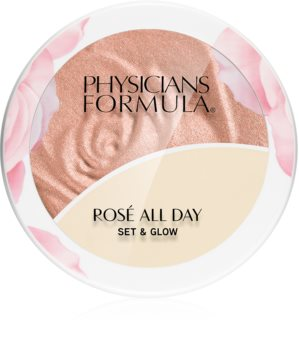 Physicians Formula Rosé All Day világosító púder balzsammal
