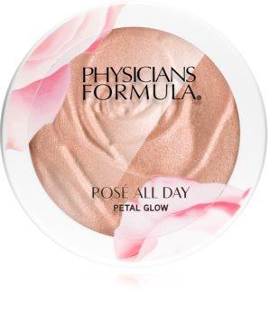 Physicians Formula Rosé All Day kompakt púderes élénkítő arcra