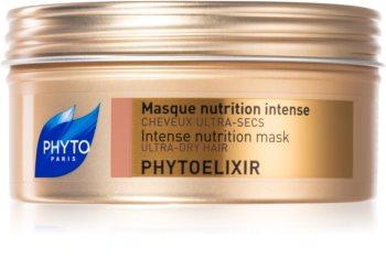 Phyto Phytoelixir maschera nutriente intensa per capelli secchi e porosi