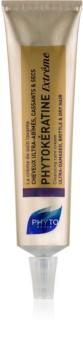 Phyto Phytokératine Extrême creme de limpeza para cabelo danificado, seco e quebradiço.