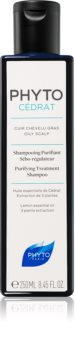 Phyto Phytocédrat šampon za njegu i jačanje kose za masno vlasište