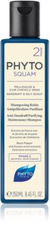 Phyto Phytosquam hloubkově čisticí šampon pro mastnou pokožku hlavy proti lupům