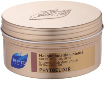 Phyto Phytoelixir mascarilla nutritiva intensa para cabello seco y poroso