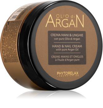 Phytorelax Laboratories Olio Di Argan feuchtigkeitsspendende Creme für Hände und Fingernägel mit Arganöl