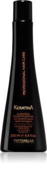 Phytorelax Laboratories Keratina Șampon reînnoire cu keratină pentru păr deteriorat