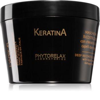 Phytorelax Laboratories Keratina maschera alla keratina per il trattamento dei capelli rovinati