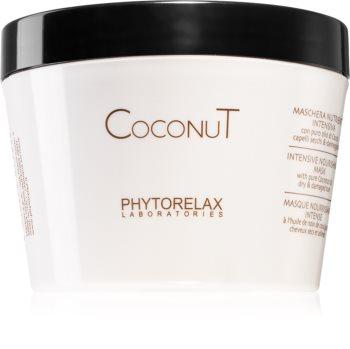 Phytorelax Laboratories Coconut Hydraterende Haarmasker  met Kokosolie
