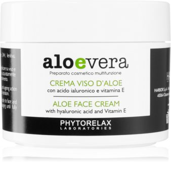 Phytorelax Laboratories Aloe Vera защитен крем за лице  с алое вера
