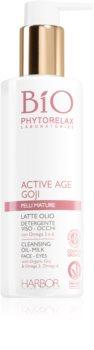 Phytorelax Laboratories Bio Active Age Goji latte detergente delicato per pelli mature