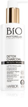 Phytorelax Laboratories Bio Detox Charcoal Micellar Milk Makeup Remover
