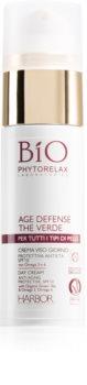 Phytorelax Laboratories Bio Age Defense the Verde crema de zi anti-rid SPF 10