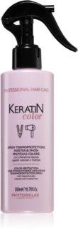 Phytorelax Laboratories Keratin Color спрей за защита на косата от топлината с кератин