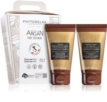 Phytorelax Laboratories Olio Di Argan coffret cadeau mains