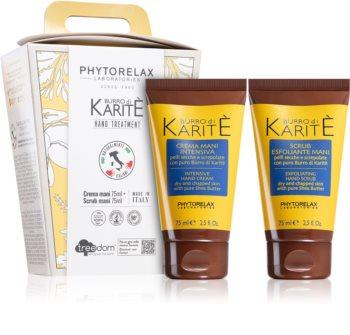 Phytorelax Laboratories Burro Di Karité ajándékszett kézre