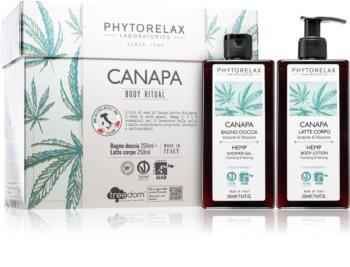 Phytorelax Laboratories Canapa ajándékszett (testre)