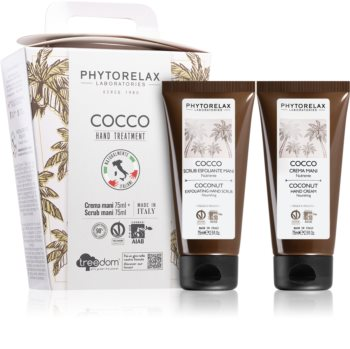 Phytorelax Laboratories Coconut coffret cadeau mains