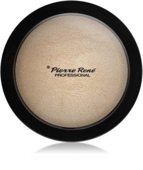 Pierre René Face Highlighting Powder kompakt púderes élénkítő arcra