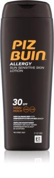 Piz Buin Allergy lotiune pentru bronzat SPF 30