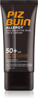 Piz Buin Allergy opalovací krém na obličej SPF 50+