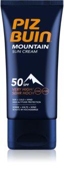 Piz Buin Mountain opalovací krém na obličej SPF 50+