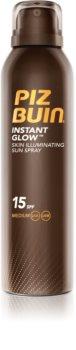 Piz Buin Instant Glow bőrvilágosító napozó spray SPF 15