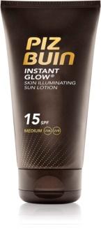 Piz Buin Instant Glow crème solaire éclat SPF 15