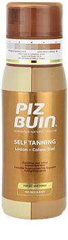 Piz Buin Self-tanning samoopalovací tělové mléko pro všechny typy pokožky