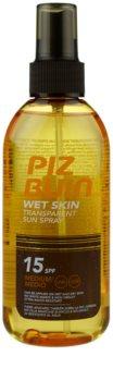 Piz Buin Wet Skin spray solar SPF 15