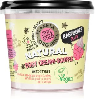 Planeta Organica Raspberry Fluff tělové suflé