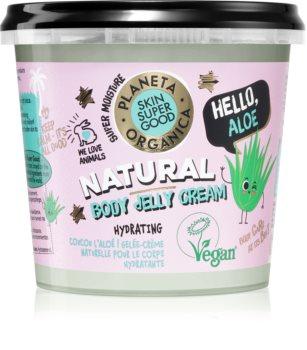 Planeta Organica Hello Aloe hydratisierende Gel-Creme für den Körper
