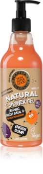 Planeta Organica Organic Fresh Basil & Fresh Mandarin energetski gel za tuširanje