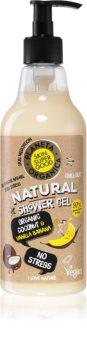 Planeta Organica Organic Coconut & Vanilla Banana gel douche anti-stress