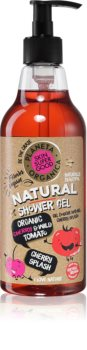 Planeta Organica Organic Cherry & Wild Tomato Caring Shower Gel