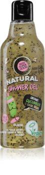 Planeta Organica Organic Cucumber & Basil Seeds entspannendes Duschgel