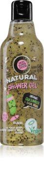 Planeta Organica Organic Cucumber & Basil Seeds relaxační sprchový gel