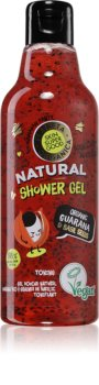 Planeta Organica Organic Guarana & Basil Seeds tonizující sprchový gel