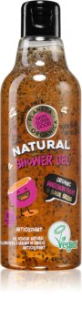 Planeta Organica Organic Passion Fruit & Basil Seeds gel de dus energizant